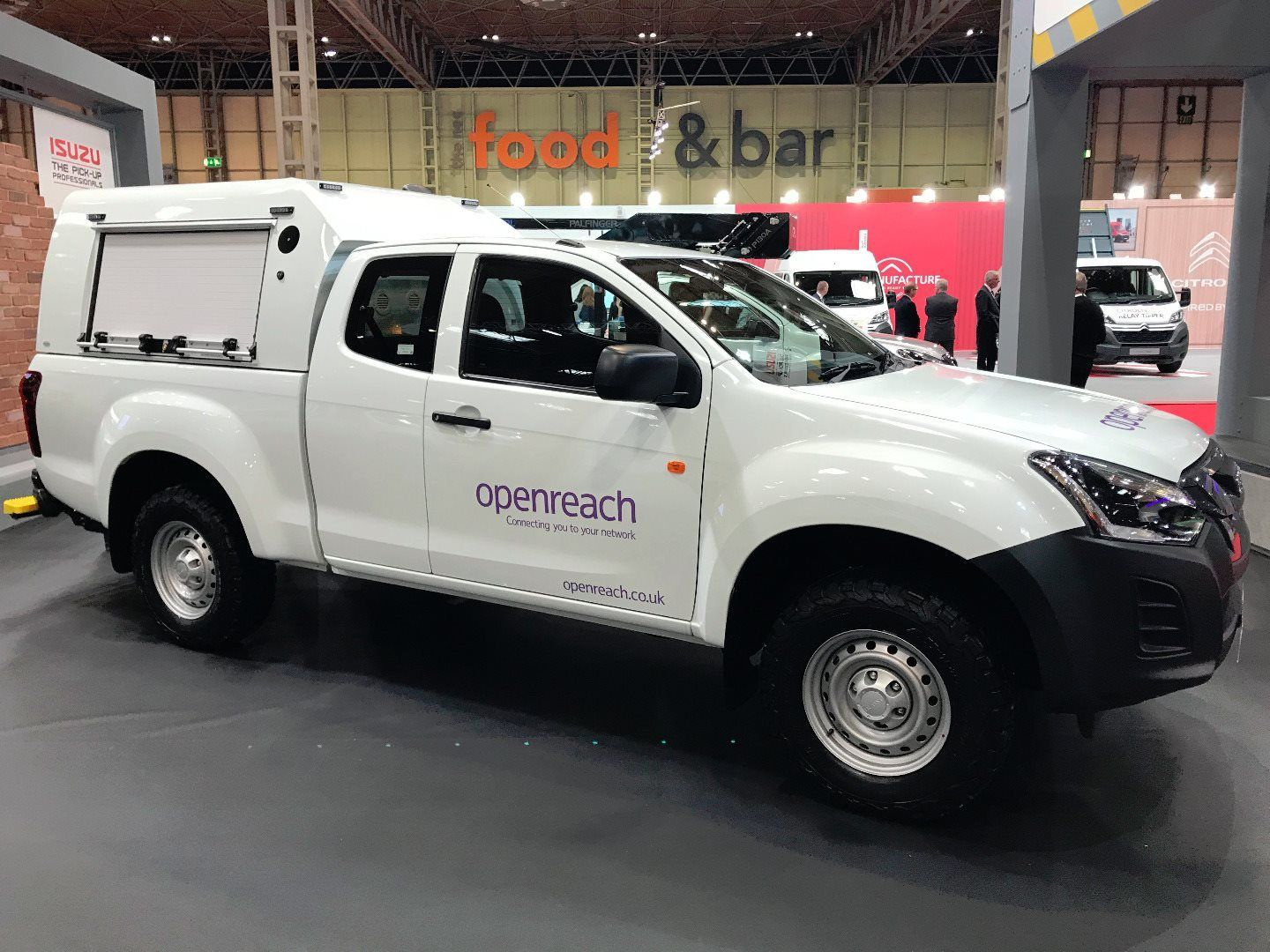 ISUZU PICKUP FLEET CONVERSIONS SHOWCASED AT CV SHOW 2018
